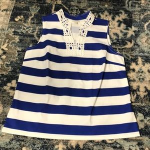 Talbots size M nautical top